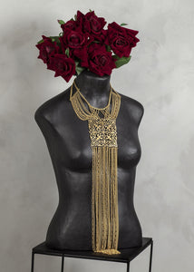 Gold Goddess Neck piece