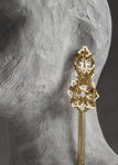 Gold Astral Earring