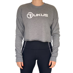 Cropped Fleece Crew