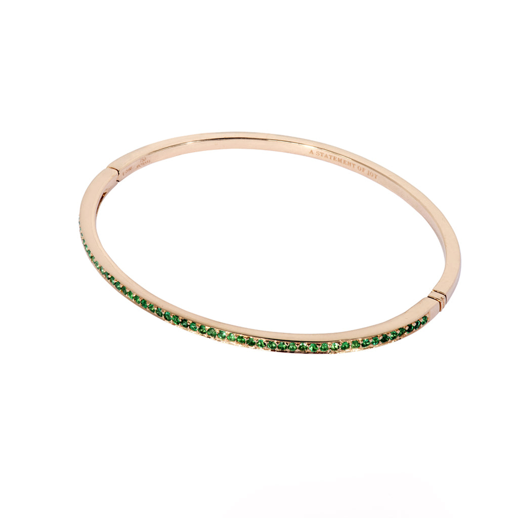 The Emerald Journey Bracelet in Rose Gold