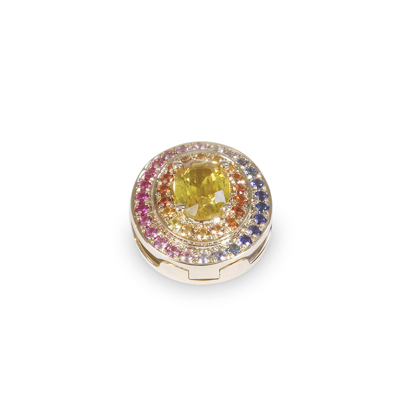 The Alice Multi Colours Eclipse Yellow Gold
