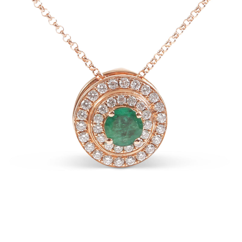 The Alice Emerald and Diamond Sphère