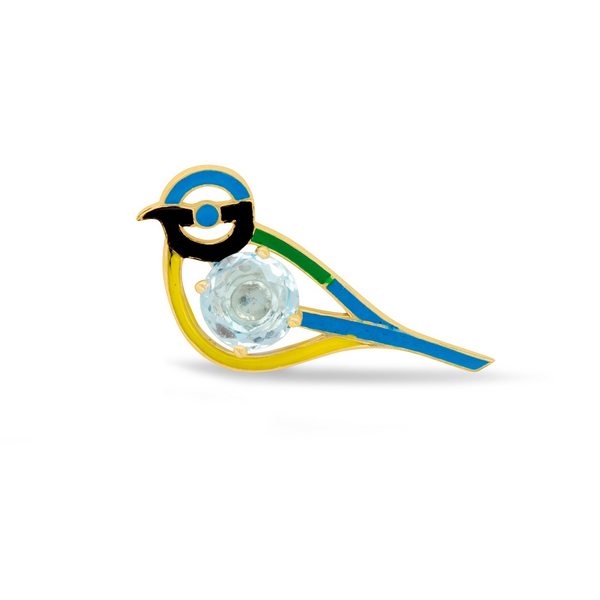 The Blue Tit Halo
