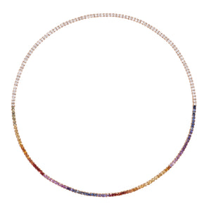 The Dusk & Dawn Tennis Necklace