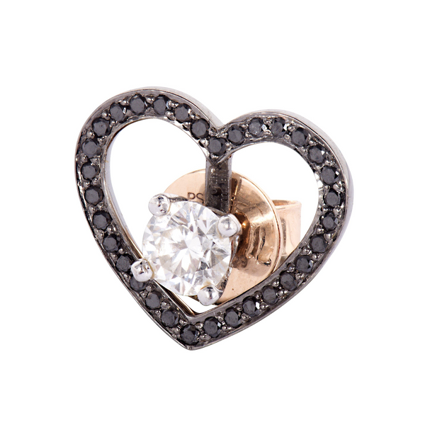 Black Diamond Heart Halo