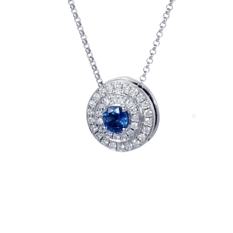 The Alice Blue Sapphire and Diamond Sphère