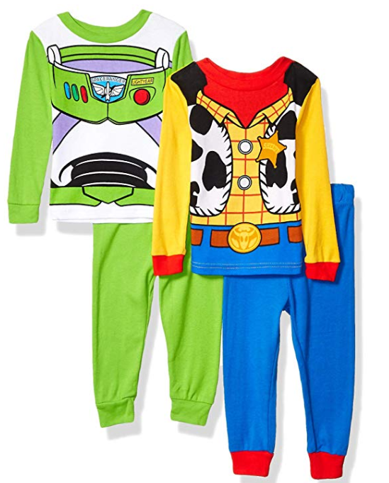 Toy Story 4 Boy Cotton Pajamas Set of 4
