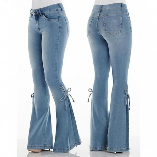 TODAY 50% OFF -70s Hip Hugger Bell Bottoms Stretchy Jeans (buy 2 get free shipping)