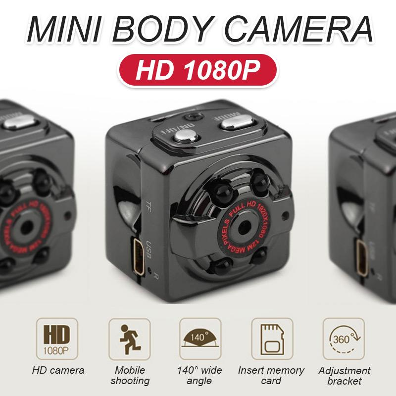 HD 1080P Mini Body Camera(BUY 2 GET FREE SHIPPING)
