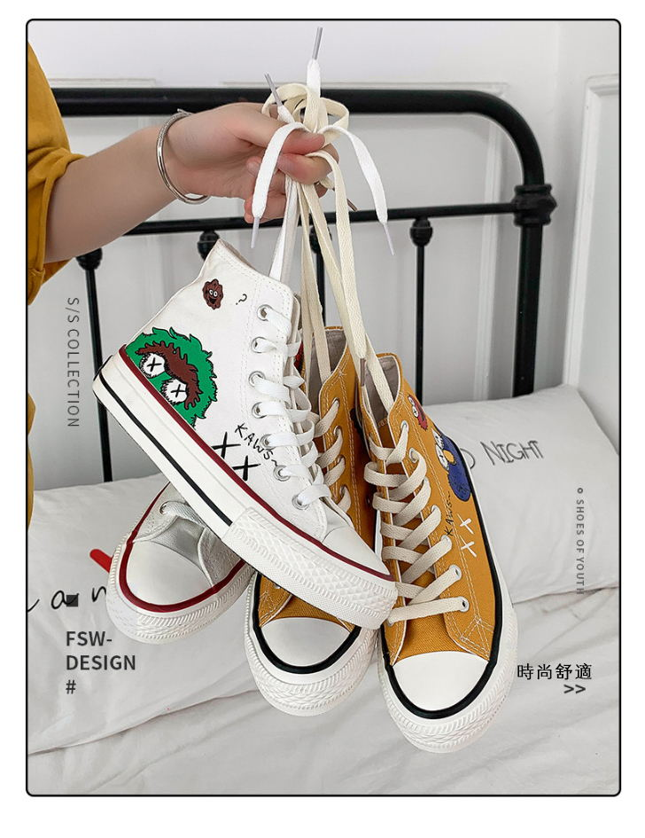 Hand drawn canvas shoes(BUY 2 GET FREE SHIPPING)