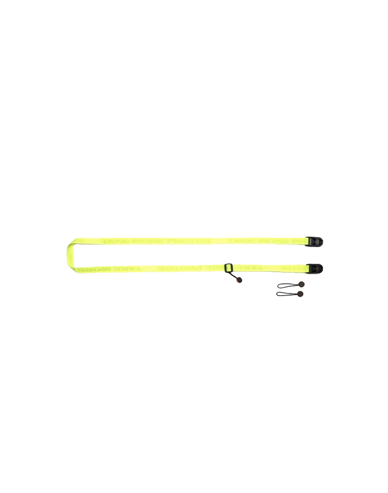 Take More Photos - Neon Green Camera Strap (Glow in the Dark)