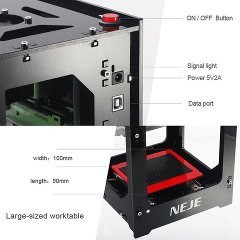 Mini laser cutter/engraving machine