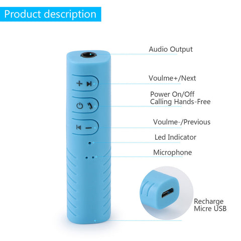 Bluetooth Car Audio Adapter