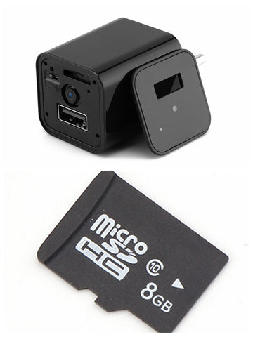 USB Phone Charger With HD Hidden Camera