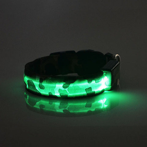 Flashing Leash Collar For Pets