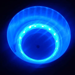 CUP HOLDER WITH 14 LED LIGHTS