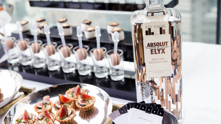 Jouer Absolut Elyx Event Catering