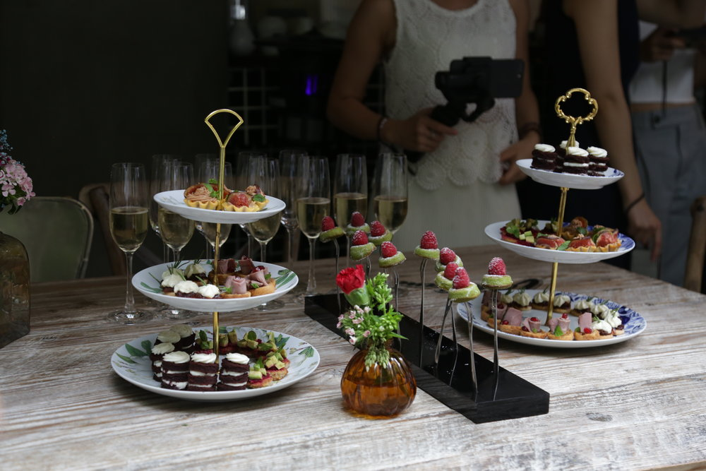 Catering | Carl's Wedding Party | Jouer Atelier