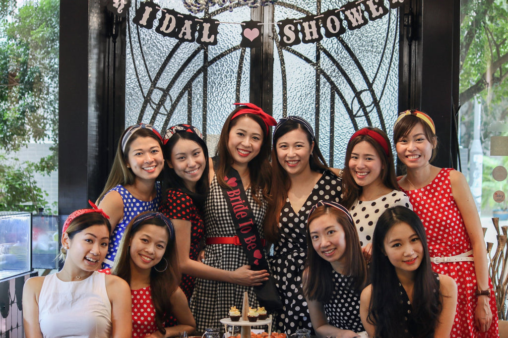Celebrate with Jouer | Private 80s themed bridal shower at Jouer's Atelier