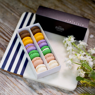 HK Retro Flavours Macaron Set in Paper Box (12pc)