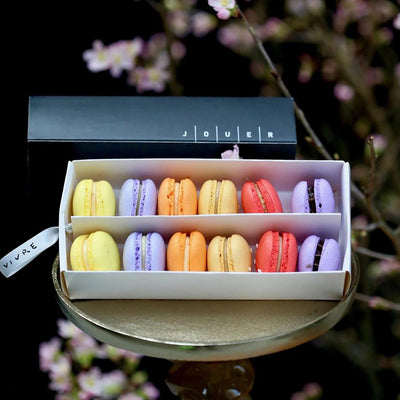 CNY Macarons Set in Paper Box (12pc)