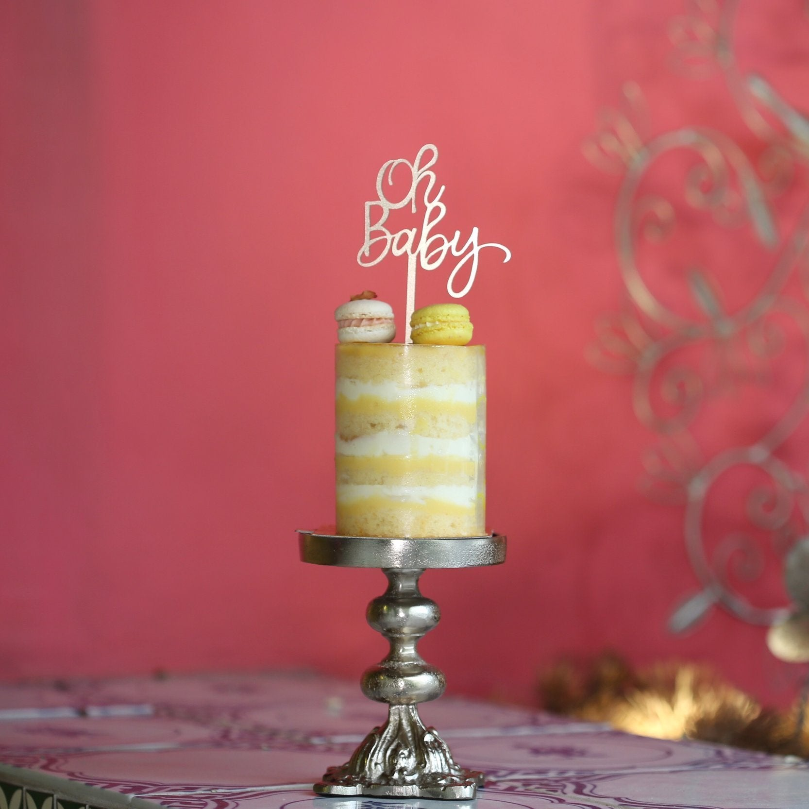 Jouer 'Oh Baby' Cake Topper