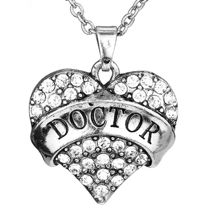 Doctor Heart - Doctor Who Necklace