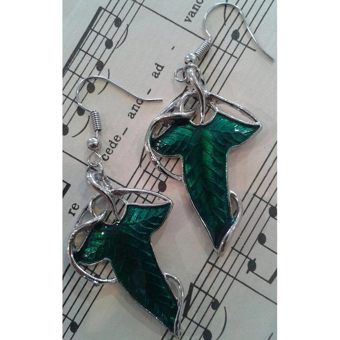 Lord of the Rings Elven Leaf Earrings
