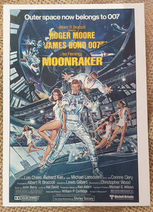 Postcard - James Bond 007 Moonraker