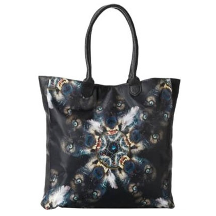Iron Fist Black Nightmare Catcher Tote Bag