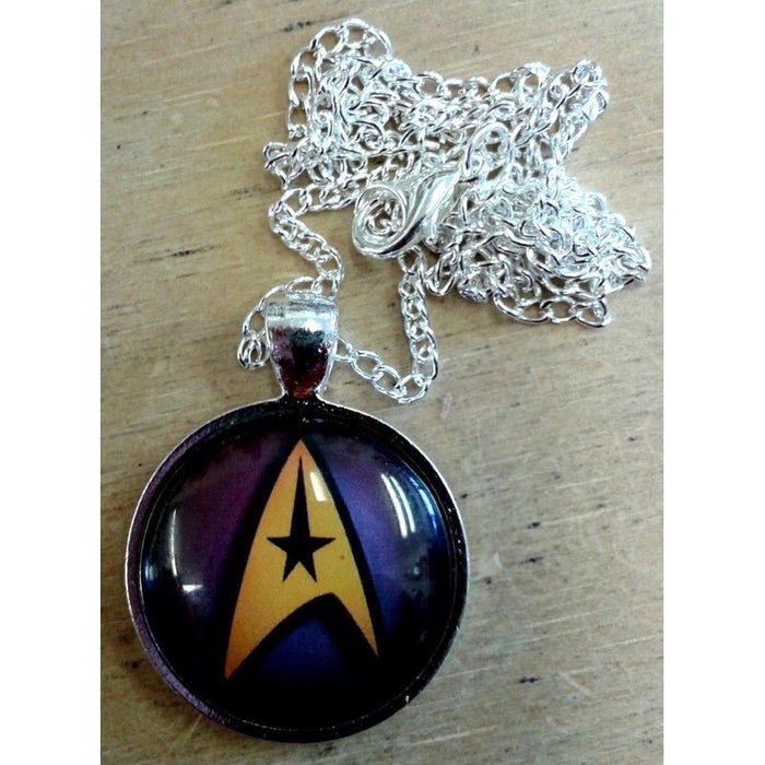Star Trek Insignia Dome Necklace