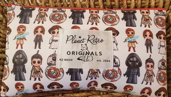 PR Original Zip Pouch -Star Wars Cutie Peeps