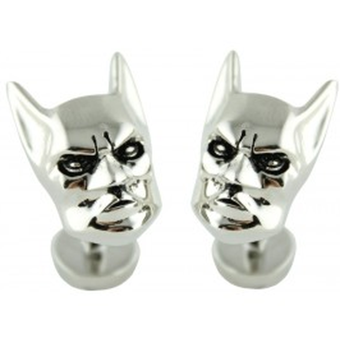 Cufflinks - DC - Batman Full Mask Silver