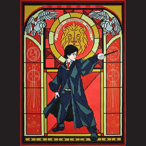 Diamond Dotz - Harry Potter Stained Glass (Advanced)