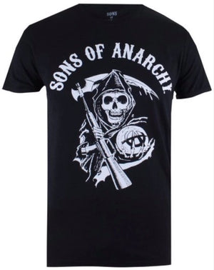 Sons Of Anarchy - Reaper Men's Black Tee