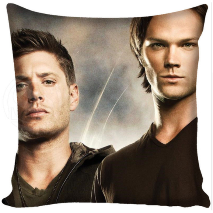 Supernatural Cushion Cover - Sam & Dean Photo Duo