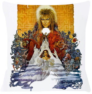 Labyrinth Movie Poster Cushion