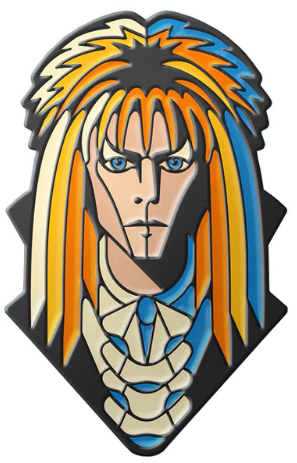 Enamelled Brooch/Pin - Jareth Labyrinth