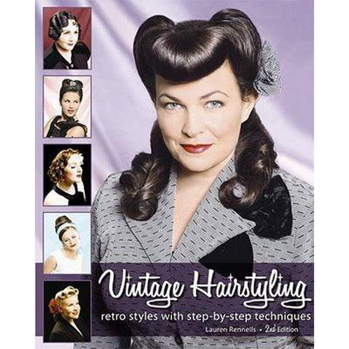 Vintage Hairstyling Book by Lauren Rennells