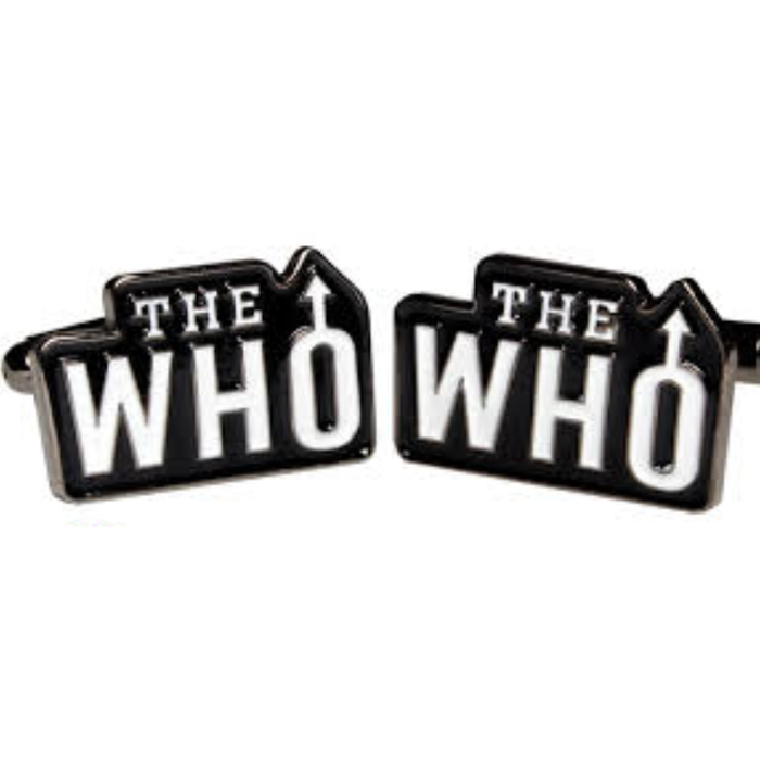 Cufflinks - Music - The Who Logo