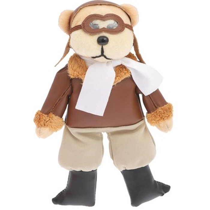 Amelia Bearhart Pilot Beanie Kid Bear Plush