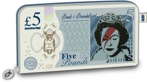 Lizzie Stardust £5 Note Clutch Wallet