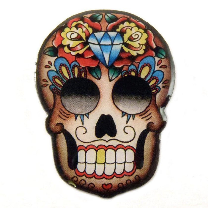 Jubly Umph Brooch - Mexican Sugar Skull