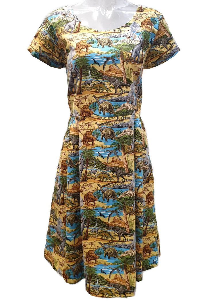 PR Original - Land Before Time Dinosaur Audrey Dress