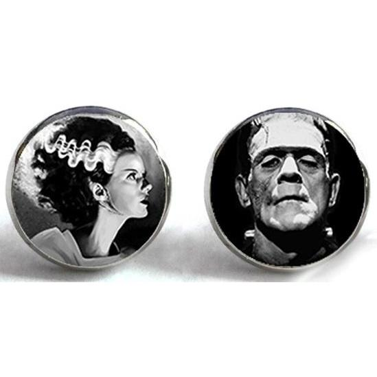 Frankenstein's Monster & The Bride Earrings