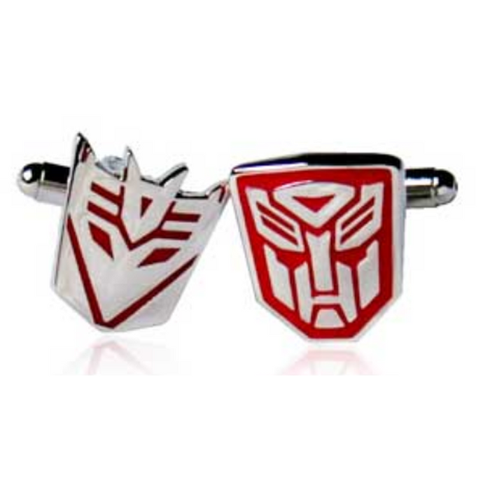 Cufflinks - TV/Cartoon - Transformers Red