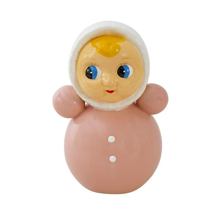 Kitsch Kewpie Kitchen Money Bank Doll