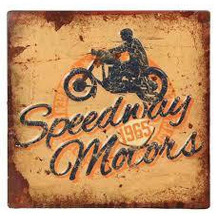 Speedway Motors Metal Plaque Sign