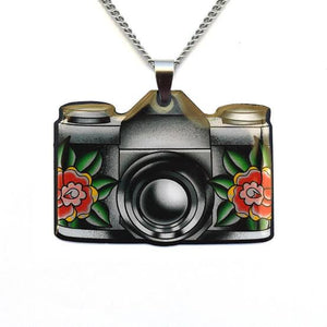 Jubly Umph Necklace - Vintage Camera