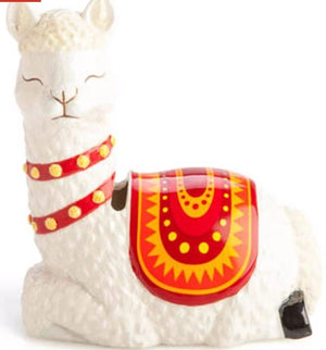 Alpaca Llama Ceramic Money Box
